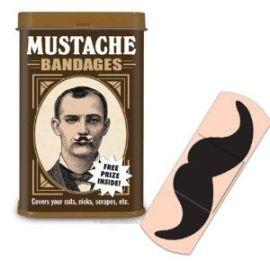 mustache bandage